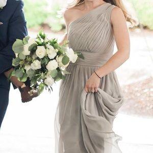 Azazie Bridesmaid Dress in Silver